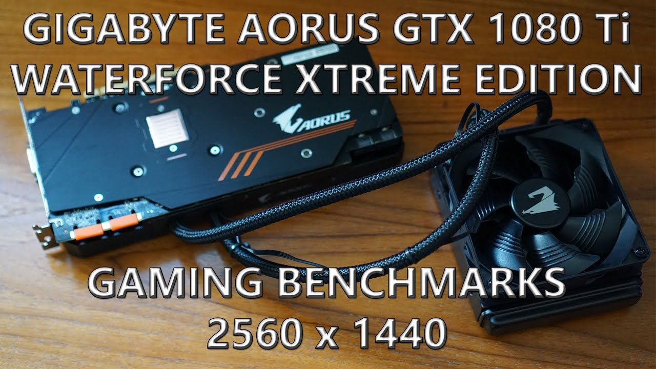 aorus geforce gtx 1080 ti waterforce xtreme edition 11g review