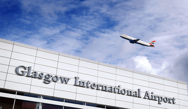 glasgow airport taxi service review