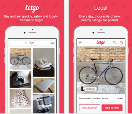 how to review someone on letgo