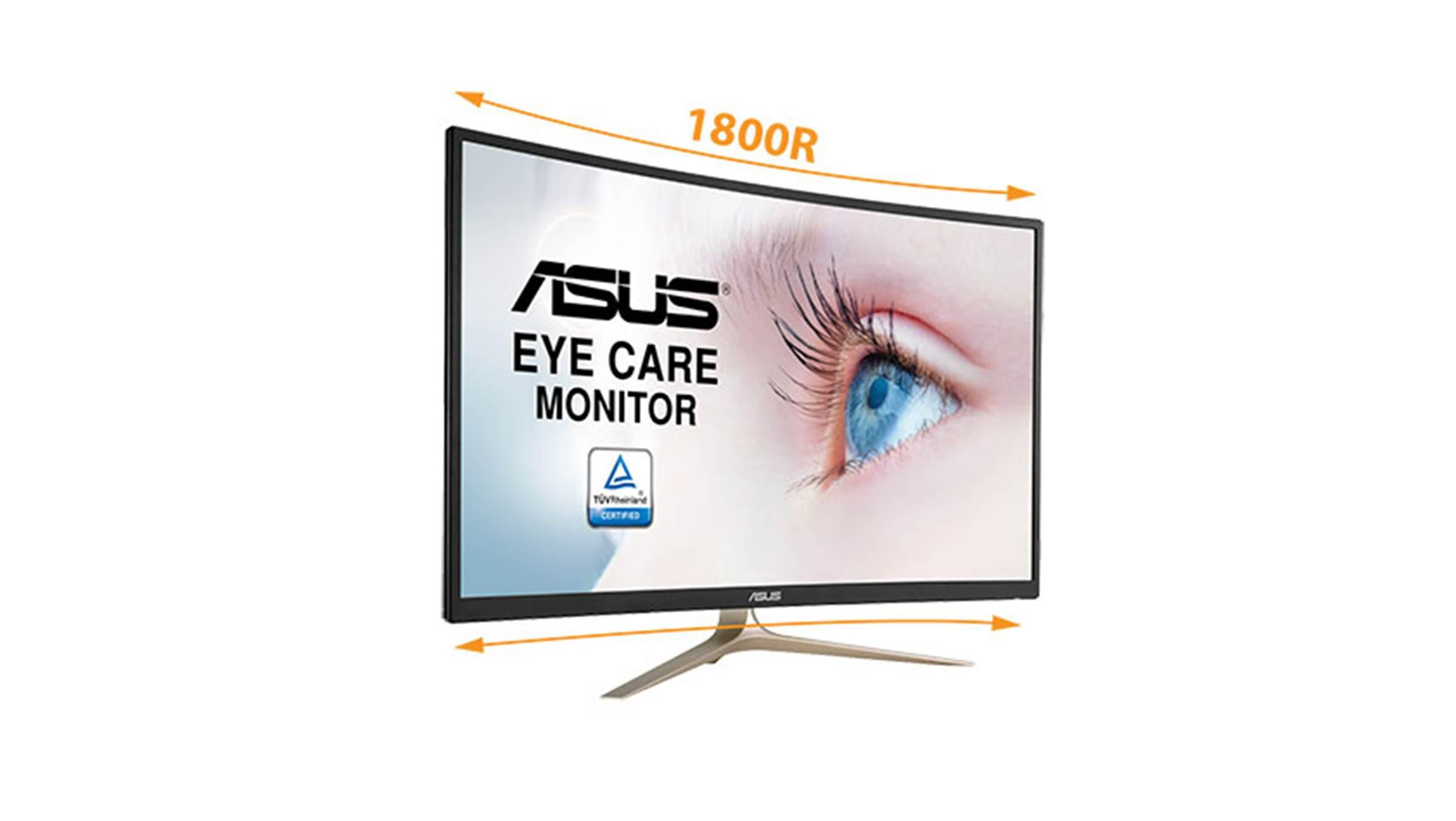 asus eye care monitor review