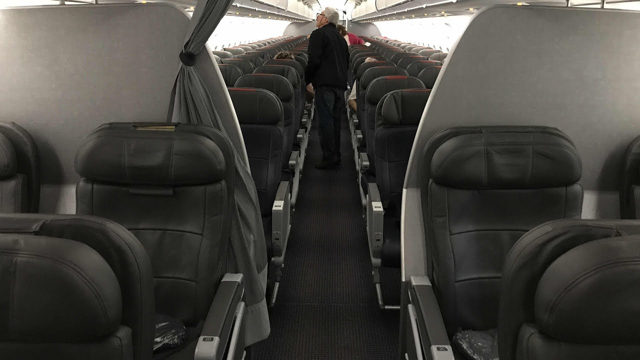 american airlines a319 first class review