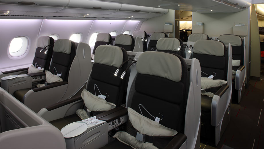 air france airbus a380 800 business class review
