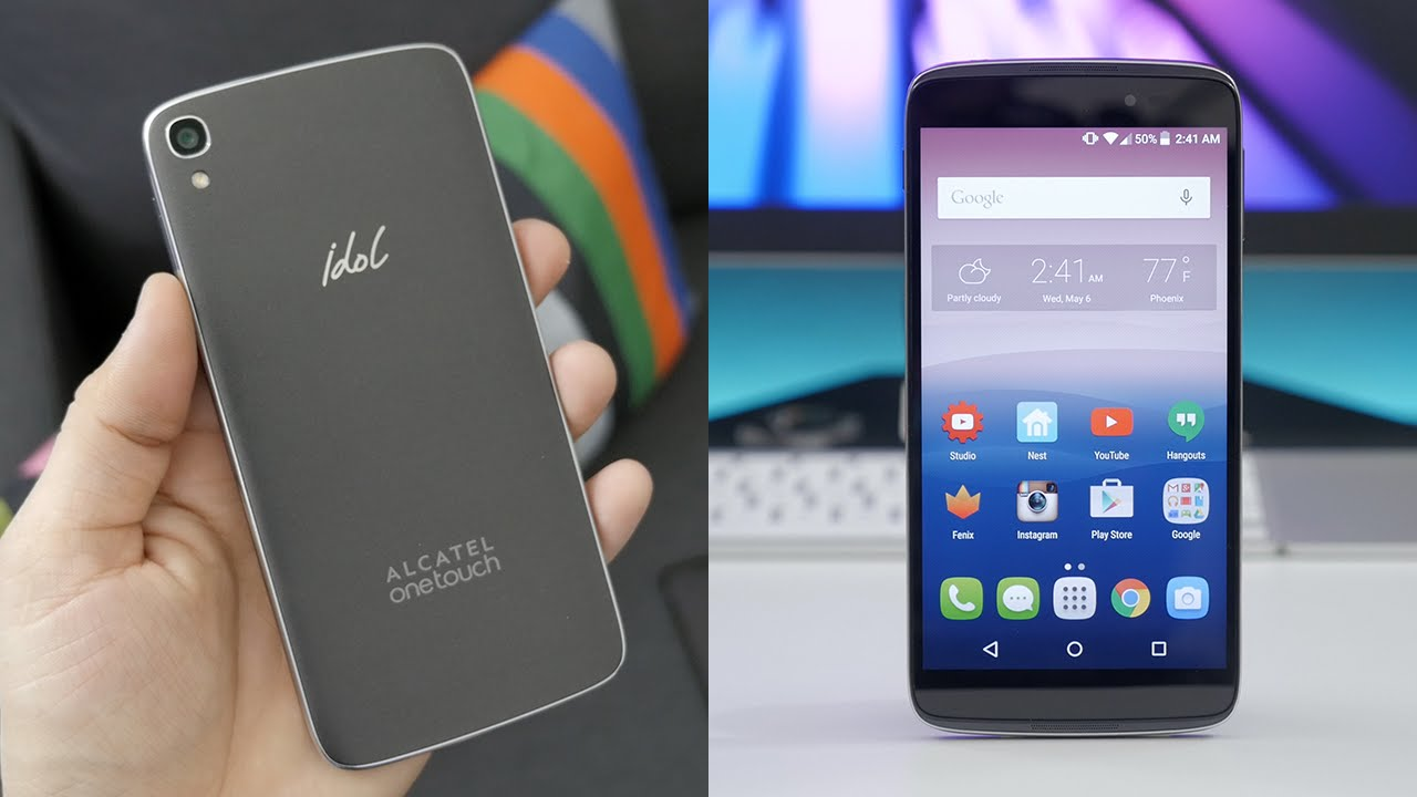 alcatel onetouch idol 3 smartphone review