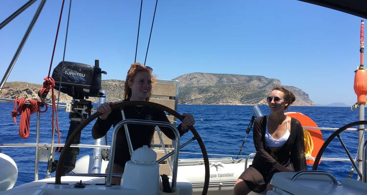 g adventures greece sailing review