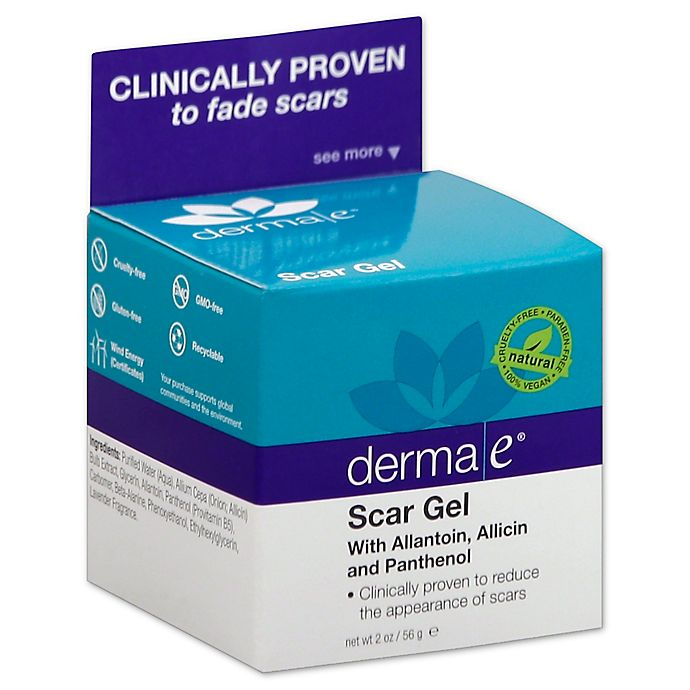 derma e scar gel product reviews