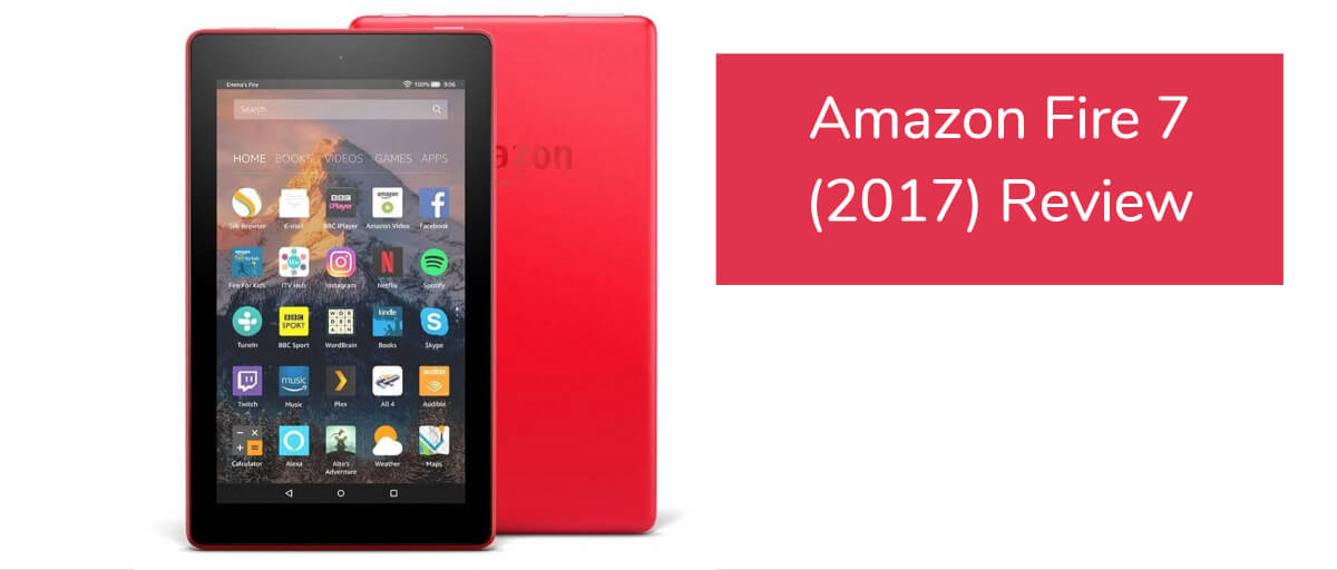 amazon fire tablet review 2017