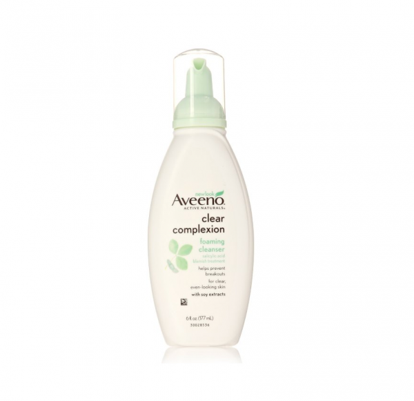 aveeno clear complexion foaming cleanser reviews acne org