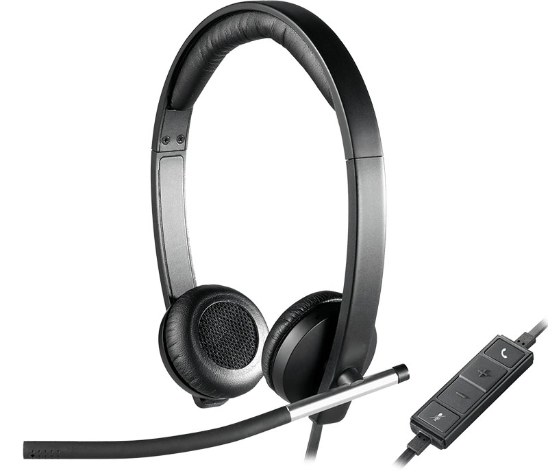 logitech usb headset stereo h650e review