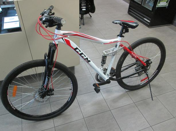 ccm static 26 full suspension mountain bike review