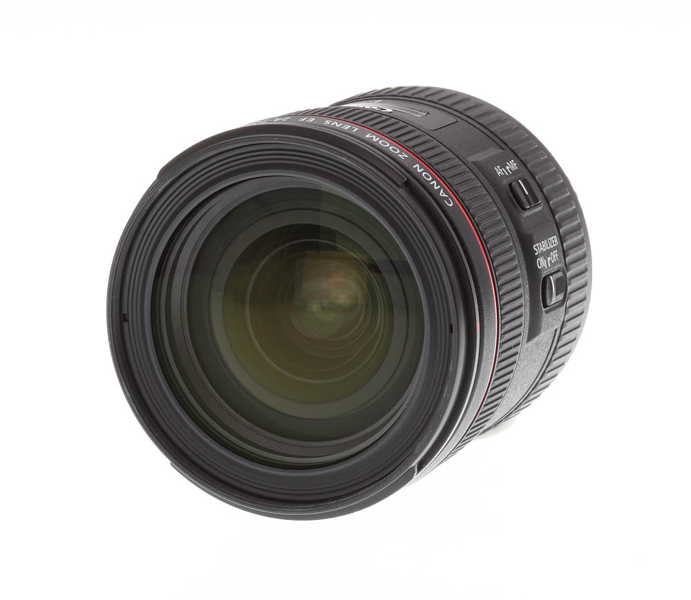 canon ef 24 70mm f 4l is usm review