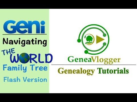 geni world family tree review