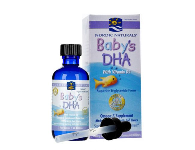 nordic naturals baby dha review